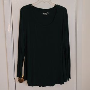 Cato Dark Green Long Sleeve